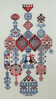 """Embroidery Stitches Designs studiomsk: """" Getting hot on embroidery. Folk Embroidery, Cross Stitch Embroidery, Embroidery Patterns, Cross Stitch Patterns, Machine Embroidery, Geometric Embroidery, Blackwork, Bordado Popular, Broderie Simple"""