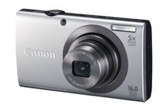 Canon PowerShot A2300 16.0 MP Digital Camera with 5x Optical Zoom (Silver) 16.0 MP Image Sensor, DIGIC 4 Image Processor, 5x Optical Zoom, 28mm Wide-Angle lens. 720p HD video recording with a dedicated movie button. Smart AUTO with 32 predefined shooting situations. Digital IS reduces effect of camera shake and subject movement. Help Button provides simple explanations and easy controls of your se... #Canon #Photography