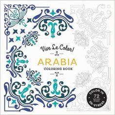 Arabia Adult Coloring Book