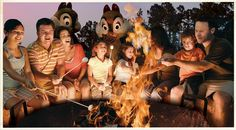 Disney's Fort Wilderness Resort & Campground at Disney World | Yum! Here's Where to Celebrate National S'mores Day | About.com Family Vacations #nationalsmoresday #smores
