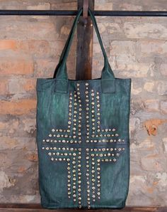 Oh, ad rhinestones to a hand made purse or bag.  Inspired