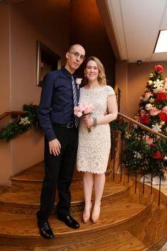 Vestido de novia perfecto para un segundo matrimonio o un casamiento civil.
