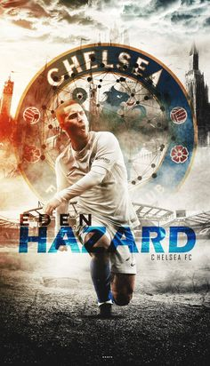 This is a picture from one of the many Belgian football players in UK. Eden Hazard is one of the strikers of the famous chelsea. Football Love, Best Football Team, Chelsea Football, Chelsea Fc Players, Chelsea Fans, Neymar Jr Wallpapers, Sports Wallpapers, Eden Hazard Skills, Xavi Iniesta