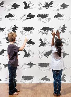 Wandbild Shadow Play von MR PERSWALL