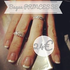 """Bague """"Princesse"""" Argent 925 via ✨ Petits Plaisirs ✨. Click on the image to see more!"""