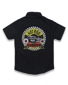 SPEEDPARTS, Hotrod Hellcat Kids, Workshirts at Switchblade Clothing