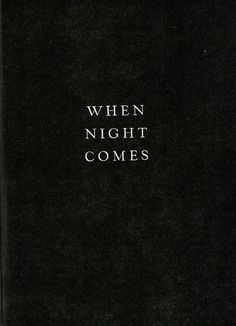 When Night Comes | REISS Inspiration | For Now