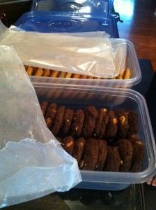 How to ship cookies for deployed soldiers (would also work for holidays).