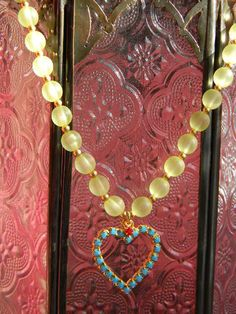 Valentine gift for her/Turquoise /Light Siam by OstaraTokyo, $57.00