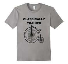 Funny Bicycle Shirt | Penny Farthing T Shirt