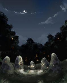 Firefly Garden by Kala-A.deviantart.com on @deviantART