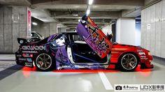our random crap — hirocimacruiser: Itasha Kouki with some very. Exotic Sports Cars, Cool Sports Cars, Cool Cars, My Dream Car, Dream Cars, Jdm Wallpaper, Car Mods, Drifting Cars, Japanese Cars