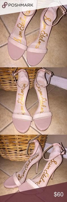 NEW Sam Edelman Nude Patti Heels Brand new Sam Edelman Patti heels in nude💘 These are size 8 but run about a half size bigger! Super cute and easy to throw on with any outfit. Make an offer! Sam Edelman Shoes Heels