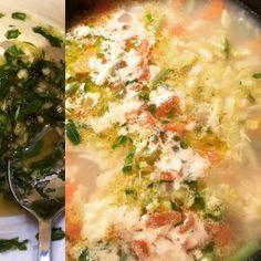 cuisinedemememoniq:  Soupe au pistou et le pistou #potage #soupe...