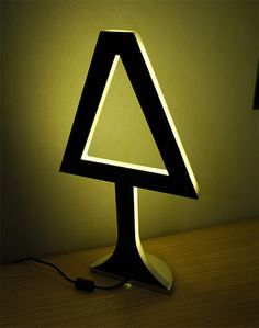 'chrysalide table lamp' deigned by emmanuel jacquet