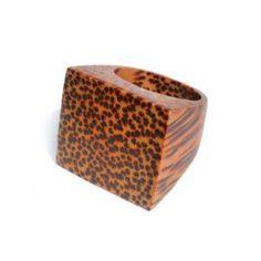 Kayoo Coco Coconut Wood Ring