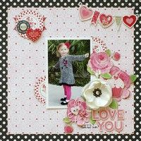 A Scrapbook Page by Kris Berc featuring Echo Park for My Creative Scrapbook kit club