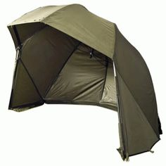 Trakker SL 60 Inch Brolly With Storm Sides Carp Tackle, Brollies, Carp Fishing, Outdoor Gear, Tent, Store, Tents