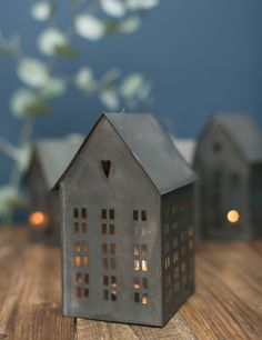 Zinc House Tealight Lantern