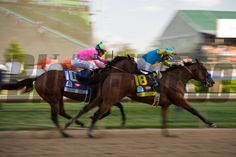 American Pharoah ridden by Victor Espinoza, trained by Bob Baffert, won the 141st running of the Kentucky Derby at Churchill Downs in Louisville, Kentucky.  Saturday, May 2, 2015<br /> Helena Hau Photo