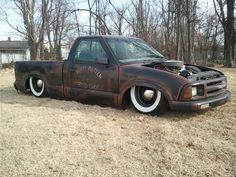 pics of rat rod trucks S10 Truck, Chevy Trucks, Pickup Trucks, Truck Drivers, Dually Trucks, Rat Rods, Rat Rod Cars, Mini Trucks, Cool Trucks