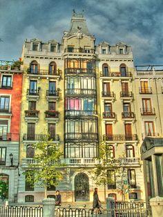 Plaza de Oriente. Madrid.