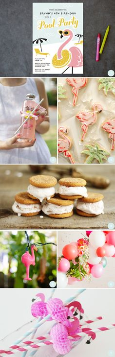 Design to Dish: Strawberry Ice Cream Sandwiches by MelissaBahen for Julep