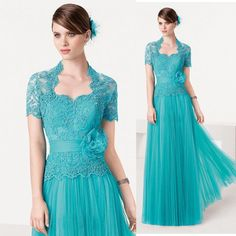 Turquoise Mother of Groom Dresses