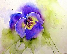 Pansy - Lin Frye - Flower Art