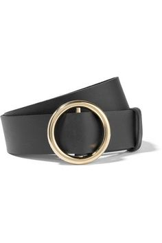 FRAME Circle leather belt