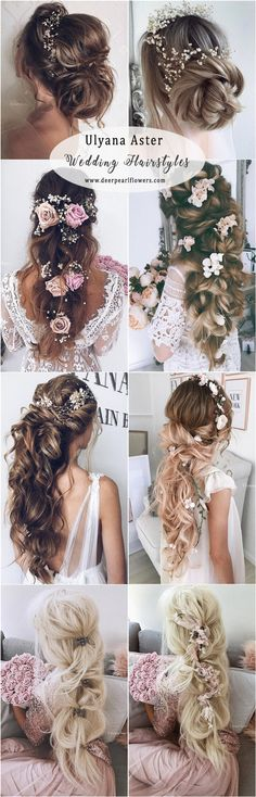 Ulyana Aster Long Wedding Hairstyles #weddingideas #hairstyle #fashion #wedding http://www.deerpearlflowers.com/long-wedding-hairstyles-from-top-8-hairstylists/