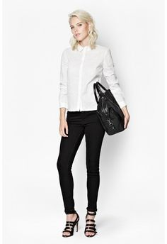 Stand out in the office with women's workwear from French Connection. Give your workwear wardrobe a stylish lift with our work dresses & smart tailoring now. Work Wear, Black Jeans, Dresses For Work, Clothes For Women, Stylish, Classic, Modern, Pants, Shirts