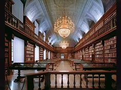 Biblioteca Di bella Arti, Milan, Italie.