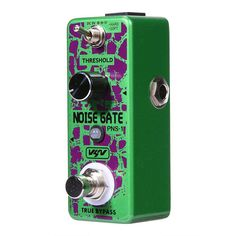 Foxgood China online store offer VSN Electric Guitar Noise Gate Pedal True Bypass Guitar Effect Pedal product to sale at best price. Environmental Influences, Guitar Parts, Guitar Effects Pedals, Noise Reduction, Gate, Electric, China, Pure Products