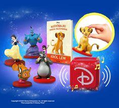 Audiobajki Disneya. Magia Słuchania! | De Agostini Publishing Pixar, Disney Characters, Fictional Characters, Disney Princess, Movies, Movie Posters, Art, Magick, Historia