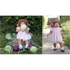 Pin for Later: This Little Girl's Halloween Costumes Could Not Be Any Cuter Cabbage Patch Kid