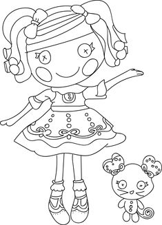 nice lalaloopsy cartoon coloring pages check more at httpwecoloringpagecom