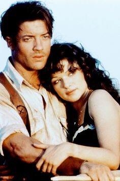 The Mummy, 1999 | Brendan Fraser and Rachel Weisz