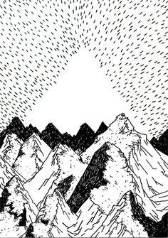 montagne by lageometrie, via Flickr