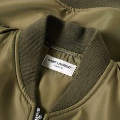 d413c1a64 Saint Laurent Classic MA-1 Jacket Military Green 6 Ma 1 Jacket, Military  Green