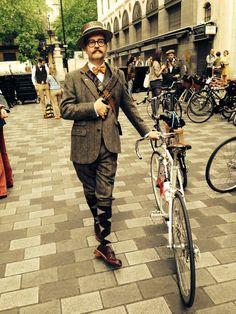 Fingers Copson, Tweed Run London 2014.
