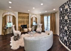 Charles Neal Interiors - Hollywood Hills Estate