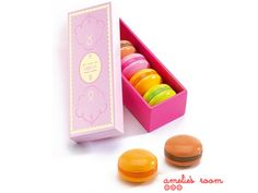 Djeco Wooden Macaroons in a Box