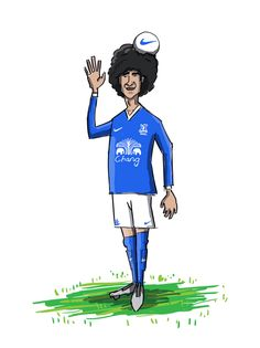 Fellaini is a Blue