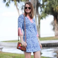 Our Prescot Lane Tunic Dress is having a moment. Cooling 50 UPF fabric makes it perfect for summer! : @theblackbarcode