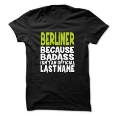 nice BERLINER t shirt, Its a BERLINER Thing You Wouldnt understand