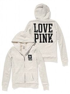 Travel in style from dorm to game in the Faux-fur Lined Bling Hoodie from Victoria's Secret PINK! Be true to your school in must-have sweats from The Exclusive Victoria's Secret PINK Collegiate Collection.