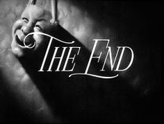 THE END Opening Credits, The End, Neon Signs, Feelings, Words, Art Direction, Cinema, Movie, Holiday