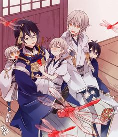 Yamato Naruto, Kakashi Hatake, Anime Chibi, Manga Anime, Touken Ranbu Mikazuki, L Death, Cute Anime Guys, Kawaii, Animation