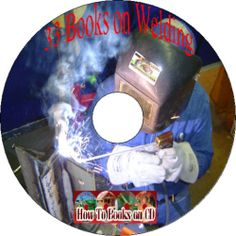 How to Electric Gas Welding Metal & Build Shop Tools Plans old Books manuals CD